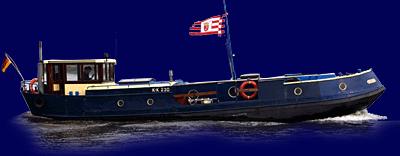 Fahrendes Schiff